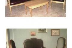 015 Sofa, 016 Fotel, 024 Stolik, 021 Stolik