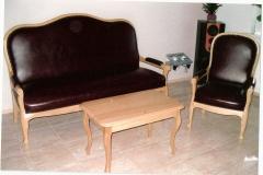 015A Sofa, 016A Fotel, 024 Stolik